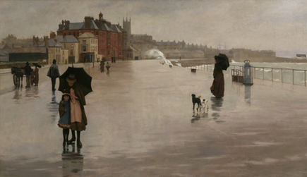 The Rain It Raineth by Norman Garstin