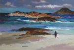 Donald McIntyre - Figures, Rocks and Sea, Iona