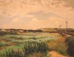 Marazion Marshes by Harold Harvey