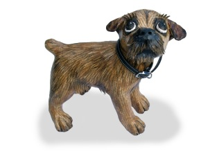 A Border Terrier (like me -well sort of)