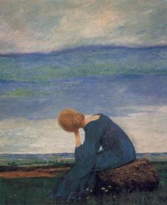 """Longing"""" ~ Heinrich Vogeler"""